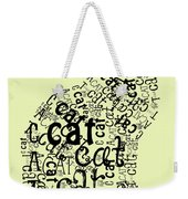 C Is For Cat Weekender Tote Bag