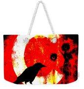 C Is For Crow Weekender Tote Bag by Carol Leigh