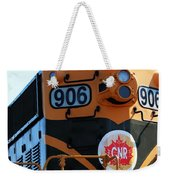 C N R Train 906 Rustic Weekender Tote Bag