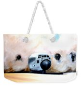 C130 Landing In A Sandstorm Air Force Military Weekender Tote Bag