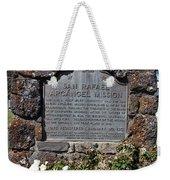 Ca-220 San Rafael Arcangel Mission Weekender Tote Bag by Jason O Watson