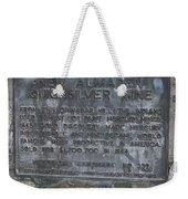 Ca-339 New Almaden Quicksilver Mine Weekender Tote Bag
