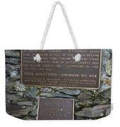 Ca-404 City Of Auburn Weekender Tote Bag