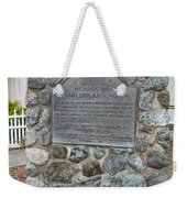Ca-714 Mendocino Presbyterian Church Weekender Tote Bag