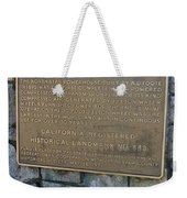 Ca-843 North Star Mine Powerhouse Weekender Tote Bag