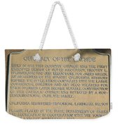 Ca-909 Our Lady Of The Wayside Weekender Tote Bag