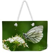 Cabbage Butterfly Weekender Tote Bag