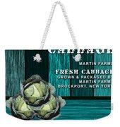 Cabbage Farm Weekender Tote Bag