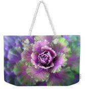 Cabbage Flower Weekender Tote Bag