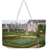 Cabbage Garden  Chateau Villandry Weekender Tote Bag