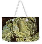 Cabbage Still Life Weekender Tote Bag