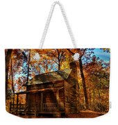 Cabin At The Cove Weekender Tote Bag