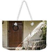 Cabin Door Weekender Tote Bag
