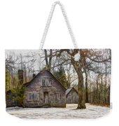 Cabin Dream Weekender Tote Bag by Debra and Dave Vanderlaan