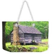 Cabin In The Smokies Weekender Tote Bag by Marty Koch