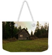 Cabin In The Woods Weekender Tote Bag