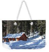 Cabin On Grand Mesa Co Weekender Tote Bag