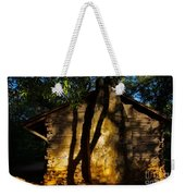 Cabin Shadows Weekender Tote Bag