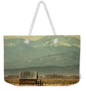 Cabin With Mountain Views Weekender Tote Bag