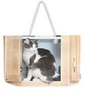 Cabinet Cat Weekender Tote Bag