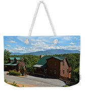 Cabins In The Smokies Weekender Tote Bag