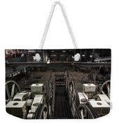 Cable Car Barn In San Francisco Weekender Tote Bag by RicardMN Photography