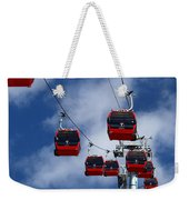 Red Line Cable Car Gondolas Bolivia Weekender Tote Bag