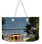 Cable Car In San Francisco Weekender Tote Bag