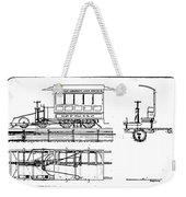 Cable Car Patent, 1873 Weekender Tote Bag