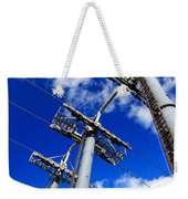 Cable Car Pillars Weekender Tote Bag
