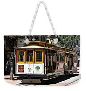 Cable Car - San Francisco Weekender Tote Bag