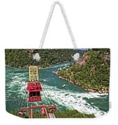 Cable Car Whitewater Weekender Tote Bag
