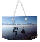Cable Cars Over La Paz City Weekender Tote Bag