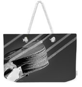 Cables And Pulleys Weekender Tote Bag
