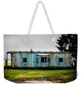 Caboose On A Farm Weekender Tote Bag