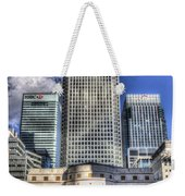 Cabot Square London Weekender Tote Bag