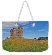 Cabot Tower In Signal Hill National Historic Site In Saint John's-nl Weekender Tote Bag