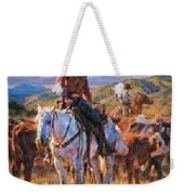 Cache Valley Round Up Paper Weekender Tote Bag