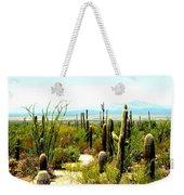 Cacti Garden Weekender Tote Bag