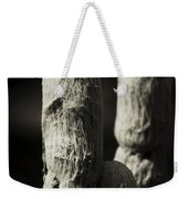 Cacti Ghost B And W  Weekender Tote Bag