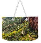 Cacti View Of Zion Weekender Tote Bag