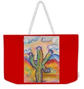 Cactus And Clouds Weekender Tote Bag