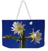 Cactus Blooms Weekender Tote Bag