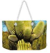 Cactus Face Weekender Tote Bag