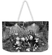 Cactus Fence- Hill Country Texas Weekender Tote Bag