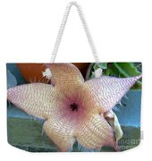 Stapelia Gigantean Flower Weekender Tote Bag