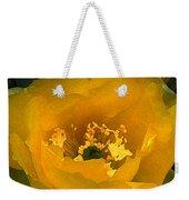 Cactus Flower Song Weekender Tote Bag