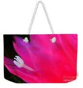 Cactus Flower Summer Bloom Weekender Tote Bag
