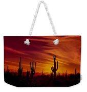 Cactus Glow Weekender Tote Bag
