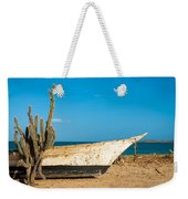 Cactus On A Beach Weekender Tote Bag